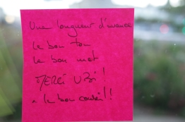 """Post-it d'or"""